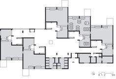 Overall plan, Montessori School, Delft.