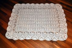 Exquisite Baby Afghan Pattern by Terry Kimbrough