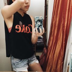 Got myself a mainstream shirt and cut it up. Trying to get motivation from the strangest things.  Motivation where are you when i need you most?  #uniqlo #uniqloph #uniqlooks #uniqlook #beachlife #beachootd #vacationready #vacation #excited #coke #cocacola #vsco #vscocam #vscoph #vscophilippines by drea_chy