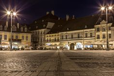 The Sibiu Photography Challenge - Pete wasn't a huge fan of this Romanian city when he arrived, but then loved it for the challenge it presented. Photography Challenge, Louvre, Challenges, Mansions, Night, House Styles, City, Building, Travel
