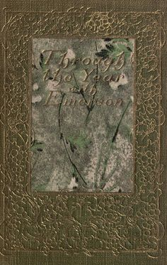 Through the year with Emerson; : Emerson, Ralph Waldo, 1803-1882 : Free Download, Borrow, and Streaming : Internet Archive Emerson, The Borrowers, Vintage World Maps, Archive, Internet, Free