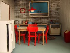 1967 vintage Lundby kitchen