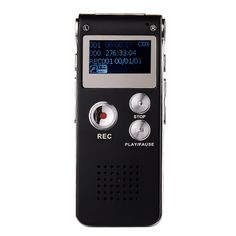 >> Click to Buy << Hot 8GB Digital Audio Voice Recorder MP3 Player LCD Screen Rechargeable Dictaphone USB Drive MP3 Player #ED# #Affiliate