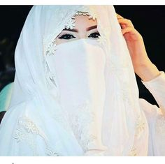 Muslimah Wedding Dress, Muslim Wedding Dresses, Muslim Brides, Muslim Girls, Bridal Hijab, Wedding Hijab, Hijab Niqab, Muslim Hijab, Islam Women