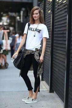 New York Fashion Week - Casual