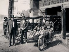 Riding Vintage: Fighting Fire with Harley-Davidson