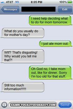 Funny Text Message! Our Yearly Tradition!