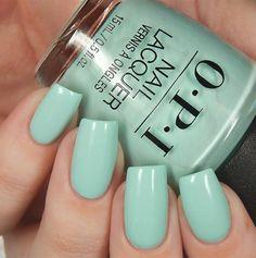 Creative Ways Opi Gel Polish Colors Summer 2018 49 Nail Art Cute, Cute Nail Colors, Spring Nail Colors, Spring Nails, Summer Nails, Summer Nail Polish, Sexy Nails, Toe Nails, Oval Nails