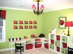 Sugar and Spice Playrooms for Girls From Rate My Space : Rooms : Home & Garden Television
