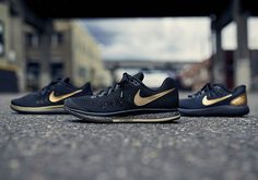 #sneakers #news  Black And Gold Anchors Nike Running's Latest Collection