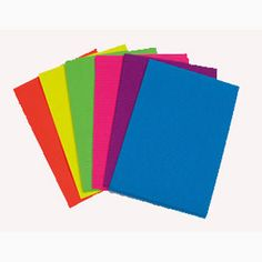 Lotus Cartridge Sheets , Sheets - 25, Size - A4 — Muticolored cartridge sheets for creating different shapes, pictures, drawings etc.