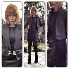 handmade fashion. made in bavaria. http://upper-palatinate-rocks.blogspot.de/2011/12/military-jacke-graumilitary-jacket-grey.html