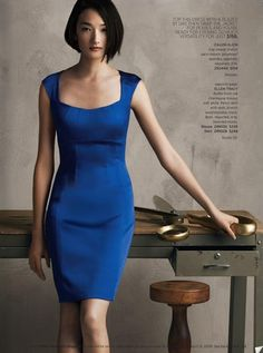 Ai Tominaga (model) in Calvin Klein