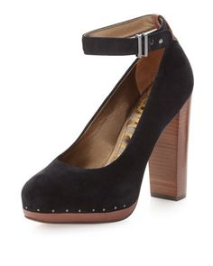 Lyla Pump, Black by Sam Edelman at Last Call by Neiman Marcus.