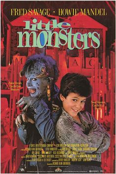 Little Monsters.  Before there was Monsters Inc., lol.  Loved this movie!