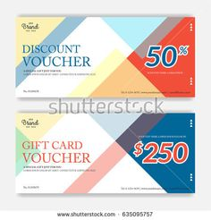 Gift Certificate Voucher Template Amusing Elegant Gift Voucher Or Gift Card Or Coupon Template For Discount Or .