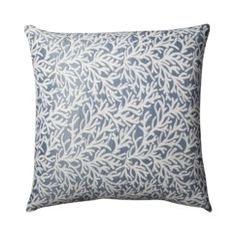 Home Coral Fashion Toss Pillow - Blue... I just like this!