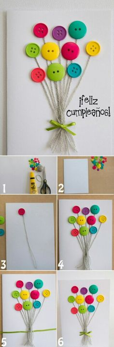 23 Clever DIY Christmas Decoration Ideas By Crafty Panda Button Crafts For Kids, Animal Crafts For Kids, Diy For Kids, Diy And Crafts, Arts And Crafts, Paper Crafts, Christmas Wreaths To Make, Christmas Crafts, Tarjetas Diy