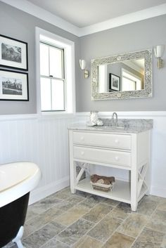 Grey Painted Walls Design, Pictures, Remodel, Decor and Ideas