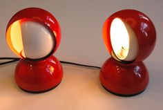 Set of 2 Artemide Eclisse lights by Vico by ICONICLIGHTS on Etsy, €140.00