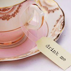 Alice in Wonderland tea disney parties, shower themes, tag, high tea, teas, alice in wonderland, drinks, teacup, bridal showers