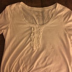 White T- Shirt White cotton Shirt Old Navy Tops Tees - Short Sleeve