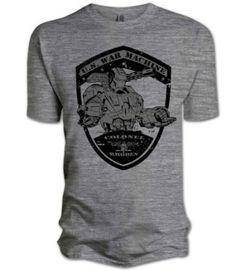 bb9843b5b Iron Man 2 War Medal Grey Mens T-Shirt Small: Amazon.co.uk: Clothing
