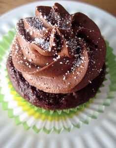 Easy Chocolate Cupcakes : A box mix plus other ingredients, like sour cream! - Your Cup of Cake