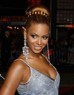Beyonce hair style~  Gorgeous Wedding Hairstyles with Braids  #hair #braids #weddinghair #updo #gorgeous #beyoncehair #wowafrican