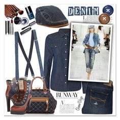 """""""Runway Denim"""" by queenvirgo ❤ liked on Polyvore featuring Lee, Marc Jacobs, Dsquared2, Abercrombie & Fitch, Bobbi Brown Cosmetics, Givenchy and Topman"""