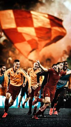 AS Roma 21 As Roma, Soccer Players, Football Soccer, Football Posters, Totti Roma, Milan, Chelsea, Sport Inspiration, Rome