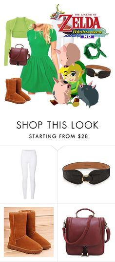 """Toon Link: Zelda Wind Waker"" by marielw97 ❤ liked on Polyvore featuring мода, W.Kleinberg и Renben"