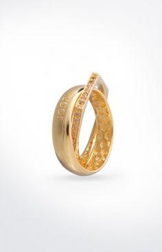 JOOP! Ring Edged in Gold