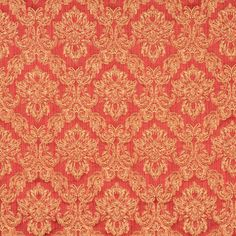 The K3099 VENETIAN RED upholstery fabric by KOVI Fabrics features Floral, Heirloom or Vintage pattern and Beige or Tan or Taupe, Burgundy or Red or Rust, Gold or Yellow as its colors. It is a Brocade or Matelasse, Damask or Jacquard type of upholstery fabric and it is made of 54% cotton, 46% polyester material. It is rated Exceeds 25,000 Double Rubs (Heavy Duty) which makes this upholstery fabric ideal for residential, commercial and hospitality upholstery projects.