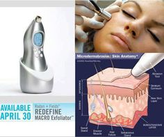 DID YOU KNOW... Rodan and Fields Macro-E uses the same diamond-tip head as Drs. Rodan + Fields and other dermatologists use in their practices for expensive micro-dermabrasion treatments?   It's the newest skincare experience, a hand-held tool that removes 5 million dead skin cells in just 5 Minutes!