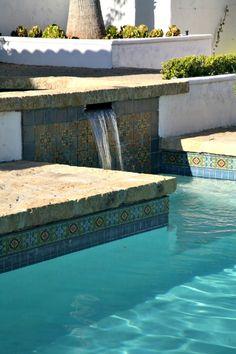 Pea Gravel Pool - Paul Hendershot Design - Via Houzz #pooldesign