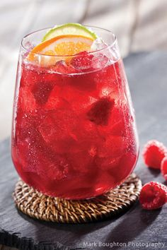 Juicy Red Sangria from @National Honey Board