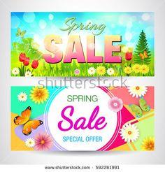 Spring. Sale.