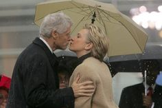 Bill and Hilary Clinton.  Could Hilary ever find another Bill and Bill could he ever find another Hilary?  That is what keeps them going strong!