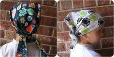 Head Wraps (DIY Fabric Head Wraps) for child going through chemo