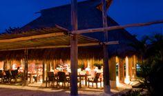 Dining on Nikoi - Nikoi Island