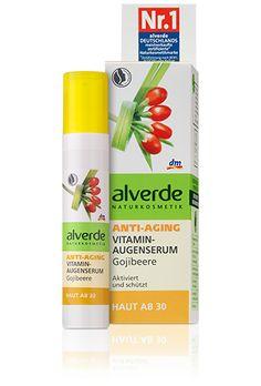 alverde Anti-Aging Vitamin-Augenserum Gojibeere