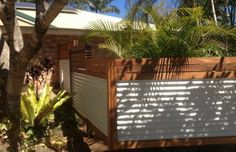 Corrugated Iron Feature Fencing
