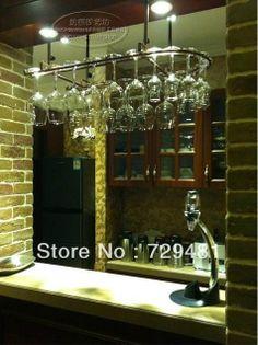 2014 new Wrought iron wine rack wine glass rack wall hanging cup holder wine rack  white, matt black, bronze