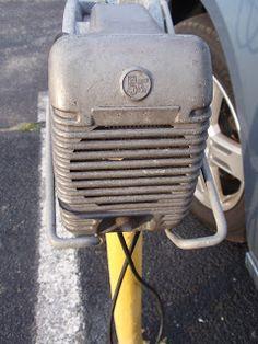 Speaker at wellfleet drive inn