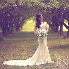 Wren Gracyn Photography #WrenGracynPhotography #bride #wedding #bridals #weddingdress #train #lace #orchard #trees #appletrees #summer #dreamy #fairytale #photography #art #symmetry #fashion #hair #makeup #model #utah #utahwedding #utahphotographer #utahgamer #utahtalent