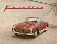 La Facellia existe en cabriolet, Coach ou Coupé 2+2