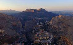 https://flic.kr/p/HuqxJQ | Sierra de Bernia | el Mascarat, Altea, Spain Sunset Colors