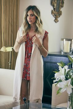 Cupcakes and Cashmere Romper and Vest