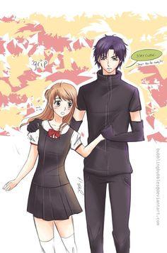 Natsume and Mikan ^.^